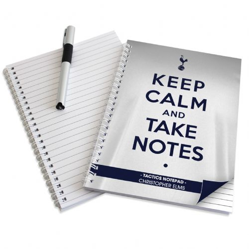 Personalised Tottenham Hotspur Keep Calm A5